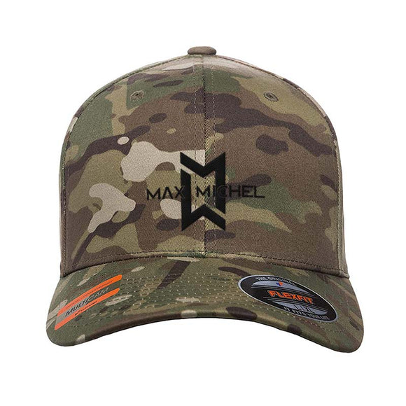 Max Michel Full Logo Flexfit® Multicam® Trucker Cap
