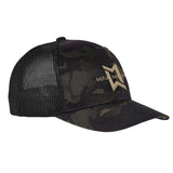 Max Michel Full Logo Flexfit® Multicam® Trucker Mesh Cap