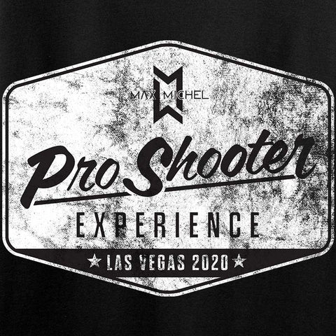 Max Michel Pro Shooter 2020 Hexagon Logo Long Sleeve T-Shirt