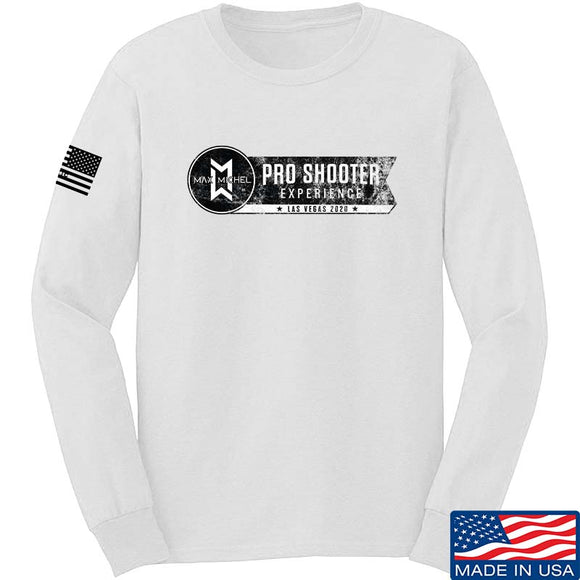 Max Michel Pro Shooter 2020 Wide Logo Long Sleeve T-Shirt