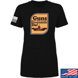 Ladies Guns Don't Kill People, Governments Do T-Shirt