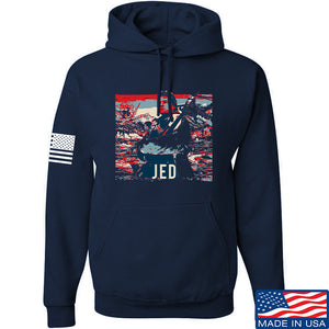 Men of Arms Apparel Jed Hoodie Hoodies Small / Black by Ballistic Ink - Made in America USA