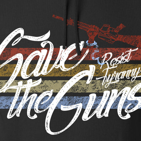 Men of Arms Apparel Save The Guns Hoodie Hoodies [variant_title] by Ballistic Ink - Made in America USA