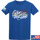 Men of Arms Apparel Save The Guns T-Shirt T-Shirts Small / Blue by Ballistic Ink - Made in America USA
