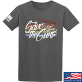 Men of Arms Apparel Save The Guns T-Shirt T-Shirts Small / Charcoal by Ballistic Ink - Made in America USA