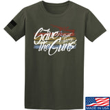 Men of Arms Apparel Save The Guns T-Shirt T-Shirts Small / Military Green by Ballistic Ink - Made in America USA