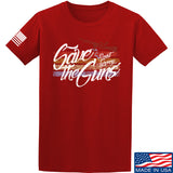 Men of Arms Apparel Save The Guns T-Shirt T-Shirts Small / Red by Ballistic Ink - Made in America USA