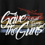 Men of Arms Apparel Ladies Save The Guns T-Shirt T-Shirts [variant_title] by Ballistic Ink - Made in America USA