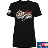 Men of Arms Apparel Ladies Save The Guns T-Shirt T-Shirts SMALL / Black by Ballistic Ink - Made in America USA