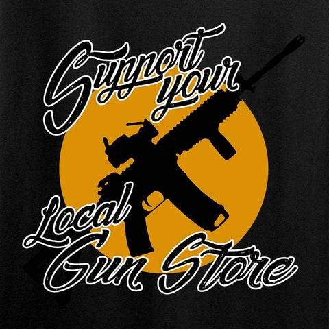 Ladies Support Your Local Gun Store T-Shirt