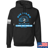 Men of Arms Apparel The Big Igloo Hoodie Hoodies Small / Black by Ballistic Ink - Made in America USA