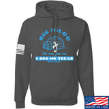 Men of Arms Apparel The Big Igloo Hoodie Hoodies Small / Charcoal by Ballistic Ink - Made in America USA