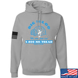 Men of Arms Apparel The Big Igloo Hoodie Hoodies Small / Light Grey by Ballistic Ink - Made in America USA
