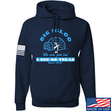 Men of Arms Apparel The Big Igloo Hoodie Hoodies Small / Navy by Ballistic Ink - Made in America USA