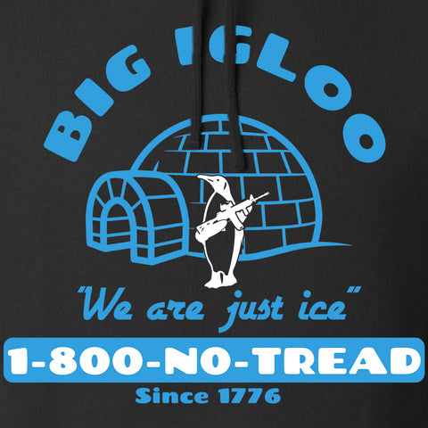 Men of Arms Apparel The Big Igloo Hoodie Hoodies [variant_title] by Ballistic Ink - Made in America USA