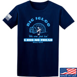 Men of Arms Apparel The Big Igloo T-Shirt T-Shirts Small / Navy by Ballistic Ink - Made in America USA