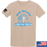 Men of Arms Apparel The Big Igloo T-Shirt T-Shirts Small / Sand by Ballistic Ink - Made in America USA