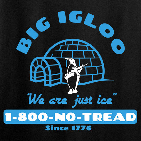 Men of Arms Apparel Ladies The Big Igloo V-Neck T-Shirts, V-Neck [variant_title] by Ballistic Ink - Made in America USA