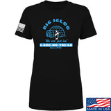 Men of Arms Apparel Ladies The Big Igloo T-Shirt T-Shirts SMALL / Black by Ballistic Ink - Made in America USA