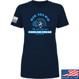 Men of Arms Apparel Ladies The Big Igloo T-Shirt T-Shirts SMALL / Navy by Ballistic Ink - Made in America USA