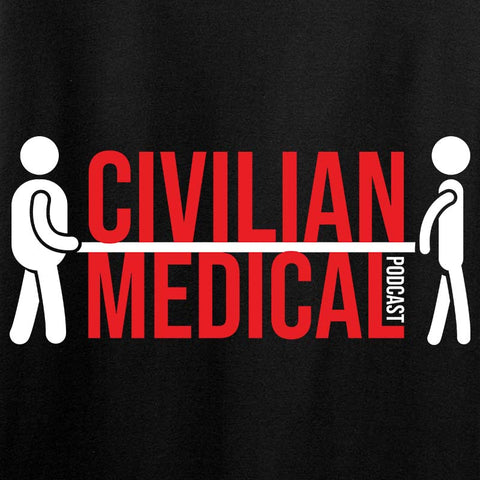 Civilian Medical Podcast Long Sleeve T-Shirt