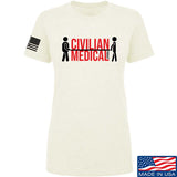 Ladies Civilian Medical Podcast T-Shirt