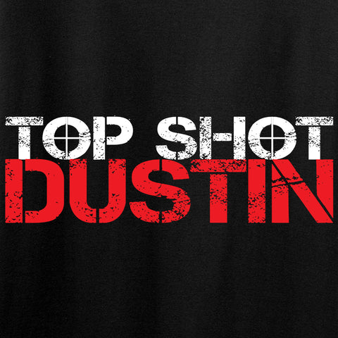 Top Shot Dustin Chest Logo Long Sleeve T-Shirt