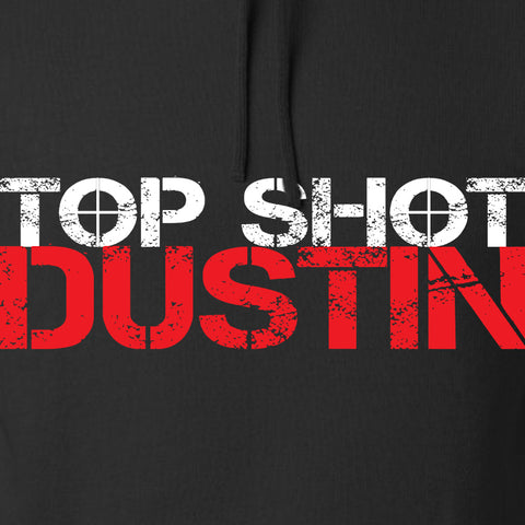 Top Shot Dustin Full Logo Hoodie