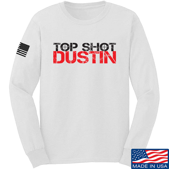 Top Shot Dustin Full Logo Long Sleeve T-Shirt
