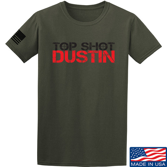 Top Shot Dustin Full Logo T-Shirt