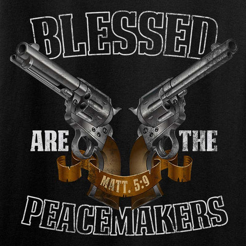 Ladies Blessed are the Peacemakers V-Neck