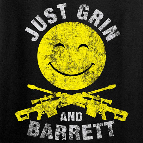 Just Grin and Barrett Long Sleeve T-Shirt