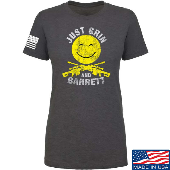 Ladies Just Grin and Barrett T-Shirt