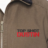 Top Shot Dustin Logo Dri Duck Men's Endeavor Jacket