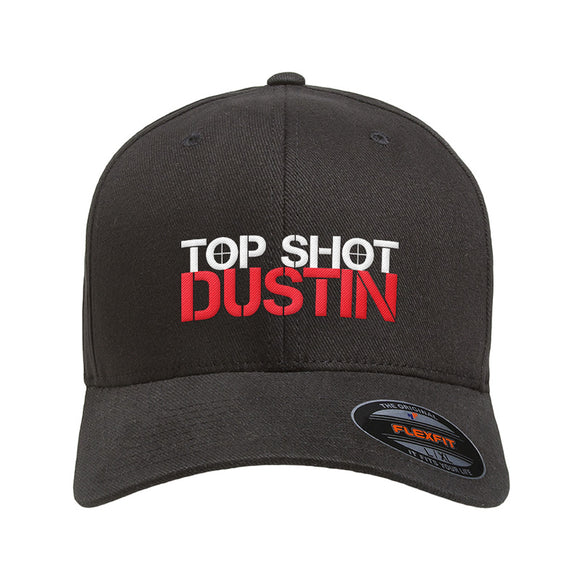 Top Shot Dustin Logo Flexfit® Cap