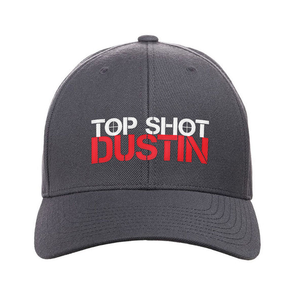 Top Shot Dustin Logo Snapback Cap