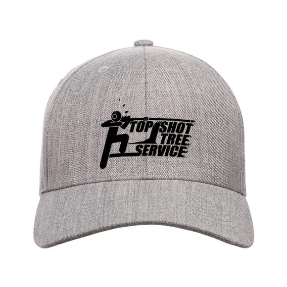 Top Shot Tree Service Snapback Cap