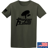 Top Shot Tree Service T-Shirt