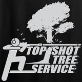 Ladies Top Shot Tree Service T-Shirt