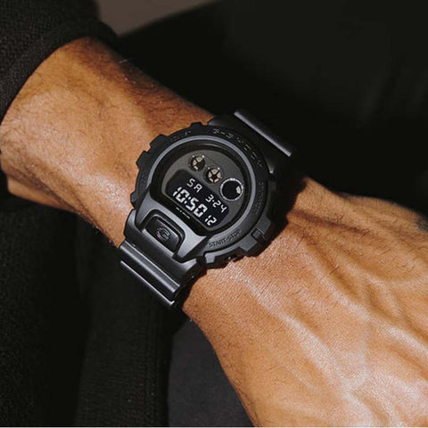 Casio G-Shock Military Series Watch — DW6900MS-1 — Black
