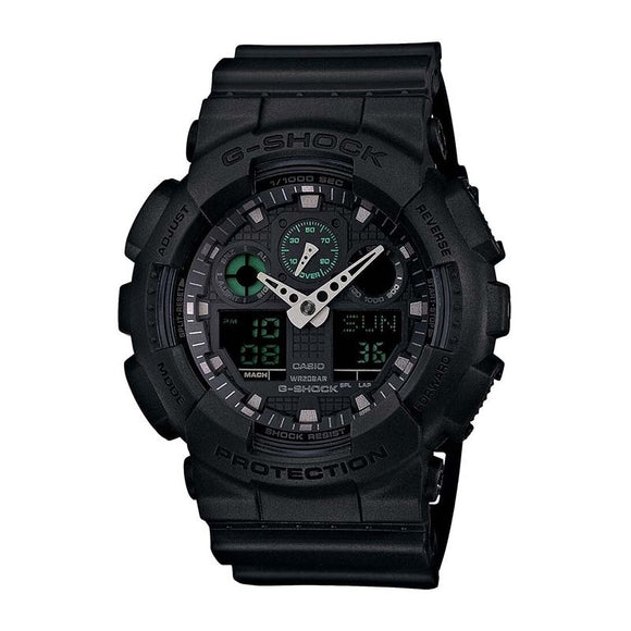 Casio G-Shock Military Series Watch — GA100MB-1A — Black