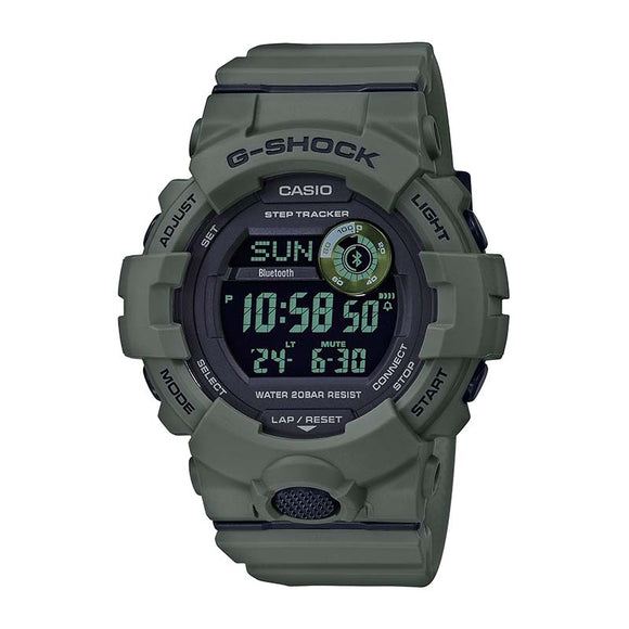 Casio G-Shock Power Trainer Watch — GBD800UC-3 — Green