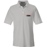IV8888 IV8888 Logo Polo Polos Small / Silver by Ballistic Ink - Made in America USA