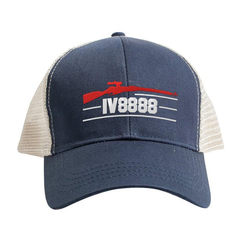IV8888 IV8888 Logo Snapback Cap Headwear [variant_title] by Ballistic Ink - Made in America USA