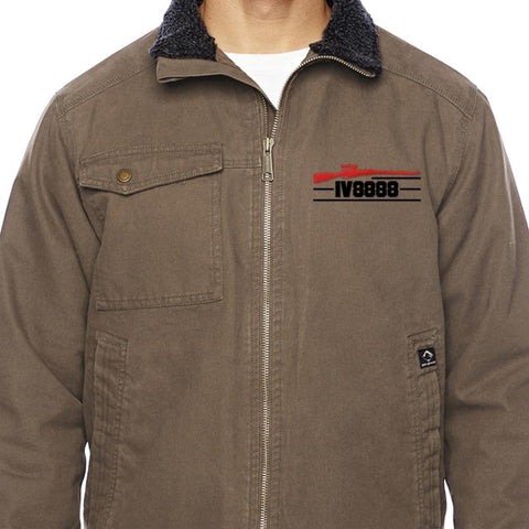 IV8888 IV8888 Logo Dri Duck Men's Endeavor Jacket Jackets [variant_title] by Ballistic Ink - Made in America USA