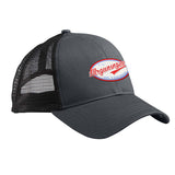 Mrgunsngear Mrgunsngear Logo Snapback Cap Headwear Black/Black by Ballistic Ink - Made in America USA