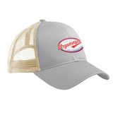 Mrgunsngear Mrgunsngear Logo Snapback Cap Headwear Dolphin/White by Ballistic Ink - Made in America USA