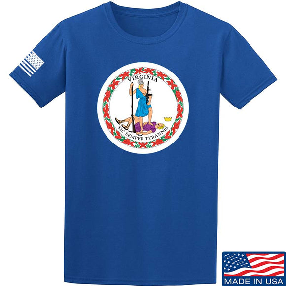 Tactical Walls Virginia State Seal T-Shirt