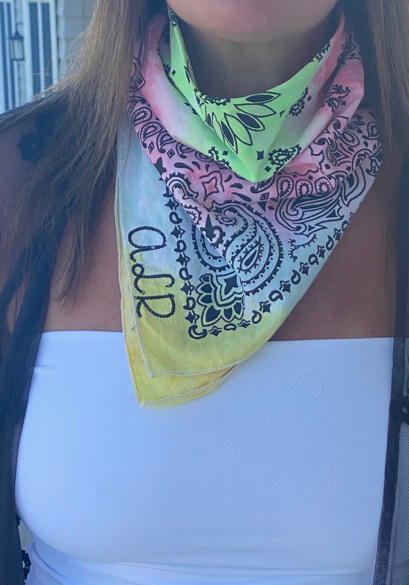 Personalized Bandana and Face Covering