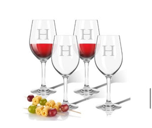 Personalized Unbreakable Wine Stems Set of 4